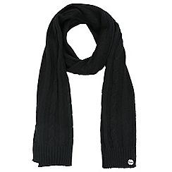 Regatta - Black 'Multimix' knit scarf