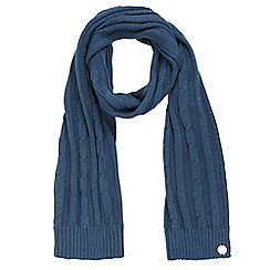 Regatta - Blue 'Multimix' knit scarf