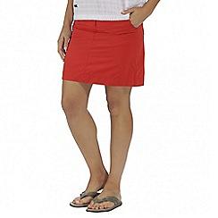 Regatta - Orange sophillia skirt
