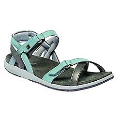 Regatta - Blue 'lady Santa Cruz' sandals