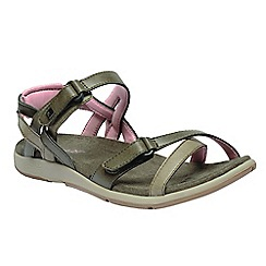 Regatta - Brown 'lady Santa Cruz' sandals
