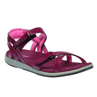 Regatta - Black 'lady Santa Cruz' sandals