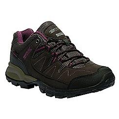Regatta - Brown 'lady Holcombe' walking shoes