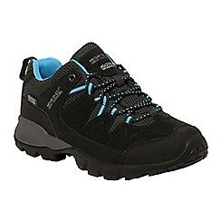 Regatta - Black Holcombe ladies walking shoe