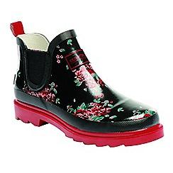 Regatta - Black lady harper wellington boots