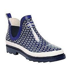 Regatta - Blue 'lady harper' wellington boots
