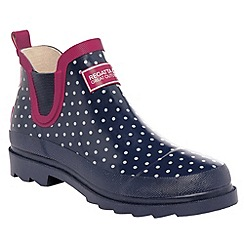 Regatta - Navy dot lady harper welly