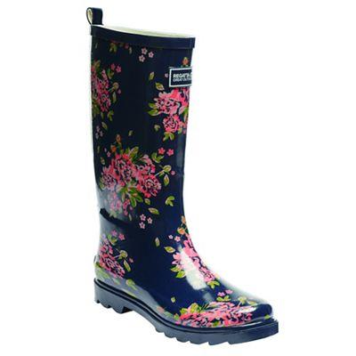 Regatta - Navy lady fairweather wellington boots