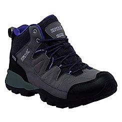 Regatta - Black holcombe ladies mid walking boot