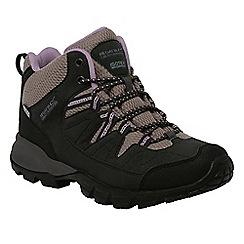 Regatta - Dusky pink Lady holcombe mid walking boot