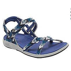 Regatta - Blue lady santa monica sandals