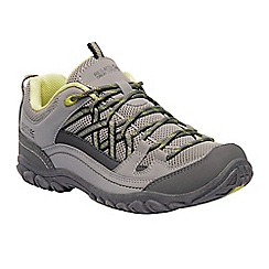 Regatta - Grey 'lady edgepoint' walking shoes