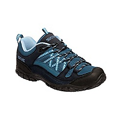 Regatta - Blue 'Lady edgepoint' walking shoes