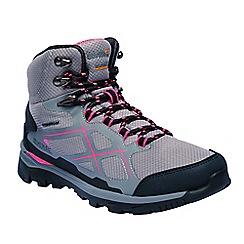 Regatta - Grey 'lady kota' walking boots