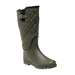 Regatta - Green 'Lady fleetwood' wellington boots