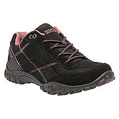 Regatta - Black 'lady Stonegate' walking shoe