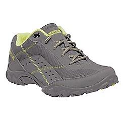 Regatta - Grey 'lady stonegate' walking shoes