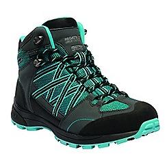 Regatta - Blue 'lady samaris' walking boots