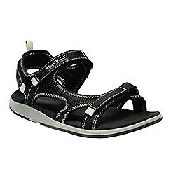 Regatta - Black 'lady ad-flo' sandals