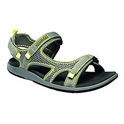 Regatta - Grey 'lady ad-flo' sandals