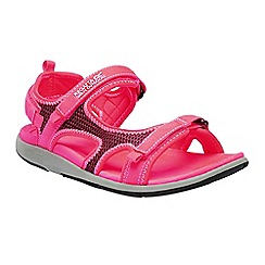 Regatta - Red 'lady ad-flo' sandals