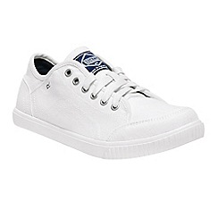 Regatta - White 'lady turnpike' casual shoes