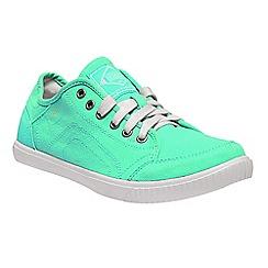 Regatta - Green 'lady turnpike' casual shoes