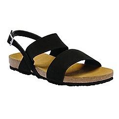 Regatta - Black 'lady Jazmin' sandals