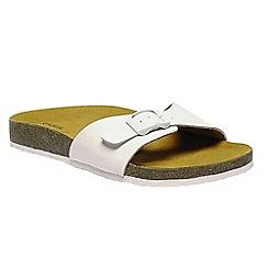 Regatta - White 'lady Margate' sandals