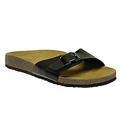 Regatta - Black 'lady Margate' sandals