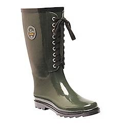 Regatta - Green 'lady bayeux' wellington boots