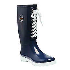 Regatta - Blue 'lady bayeux' wellington boots
