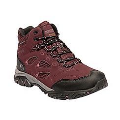 Regatta - Maroon 'Holcombe' walking boots