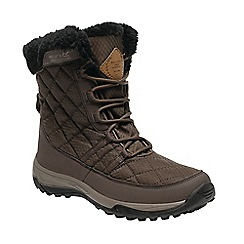 Regatta - Brown 'lady medley' walking boots