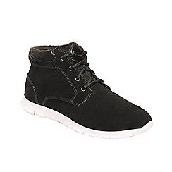 Regatta - Black 'lady marine' mid boots