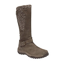 Regatta - Brown 'lady argyle' waterproof boots