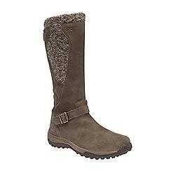 Regatta - Brown 'lady argyle' waterproof boots