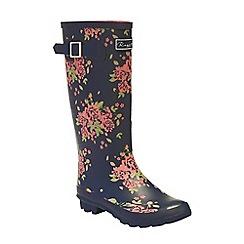 Regatta - Blue 'lady fairweather' wellington boots
