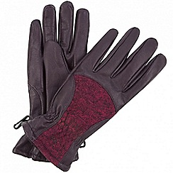 Regatta - Purple 'Garabina' gloves