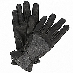 Regatta - Black 'Garabina' gloves