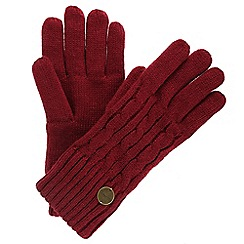Regatta - Red 'Multimix' knit gloves