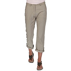 Regatta - Beige quarterdeck trouser