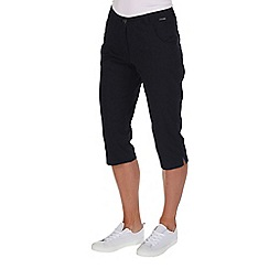 Regatta - Navy maakia capri trousers
