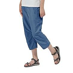 Regatta - Blue 'Chaska' capri trouser
