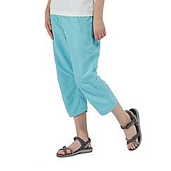 Regatta - Blue 'Chaska' Capri trousers