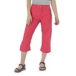 Regatta - Pink 'Chaska' capri trousers