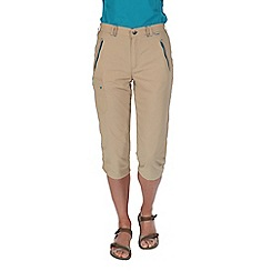 Regatta - Natural chaska capri trousers