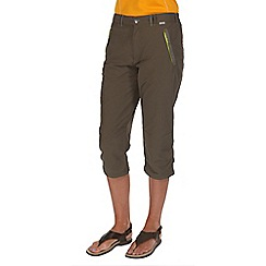 Regatta - Green chaska capri trousers