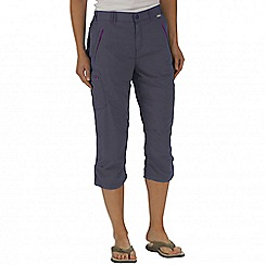 Regatta - Grey chaska capri trousers