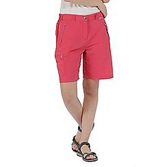 Regatta - Pink 'Chaska' lightweight shorts